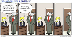 The Adventures of Business Cat - Comfort