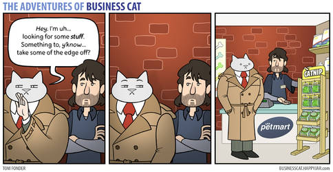 The Adventures of Business Cat - Dealings