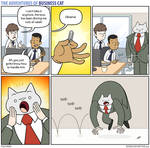 The Adventures of Business Cat - Paperclip