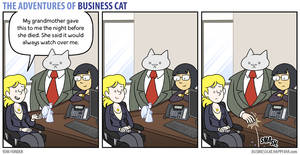 The Adventures of Business Cat - Ornament