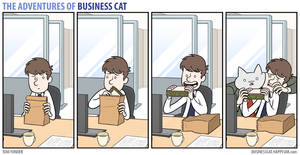 The Adventures of Business Cat - Sandwich