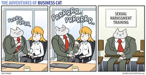 The Adventures of Business Cat - Kneading