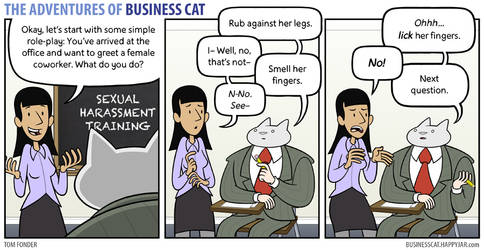 The Adventures of Business Cat - Learning by tomfonder