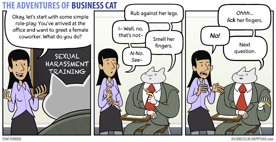 The Adventures of Business Cat - Learning