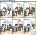 The Adventures of Business Cat - Congestion