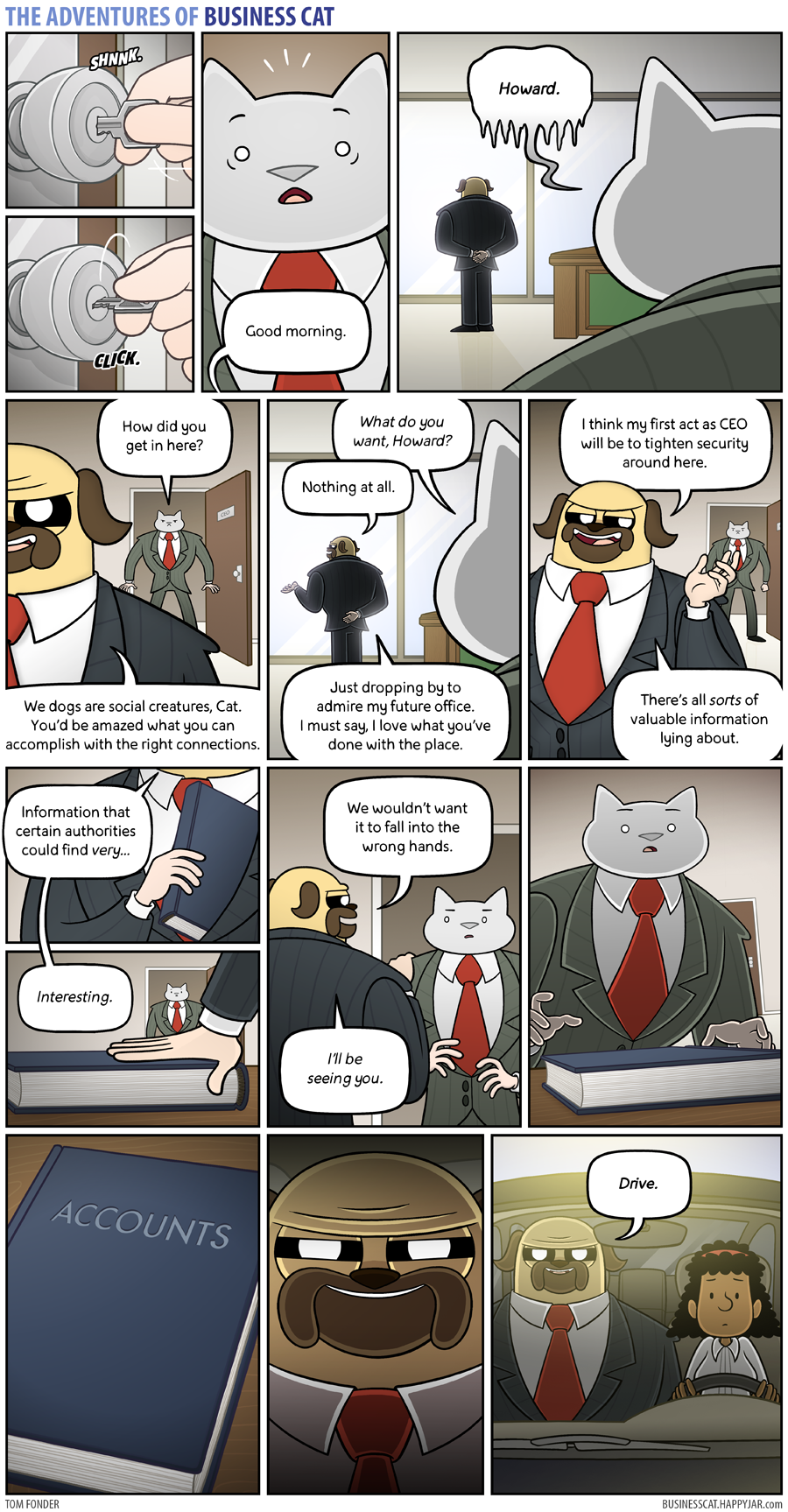 The Adventures of Business Cat - Cloak and Dagger