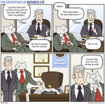 The Adventures of Business Cat - Accounts