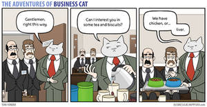 The Adventures of Business Cat - Hospitality by tomfonder