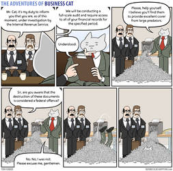 The Adventures of Business Cat - Scraps by tomfonder