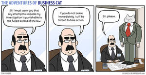 The Adventures of Business Cat - Impediment