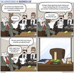 The Adventures of Business Cat - Signatory