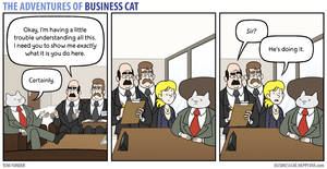 The Adventures of Business Cat - Demonstration