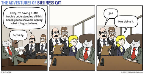 The Adventures of Business Cat - Demonstration by tomfonder
