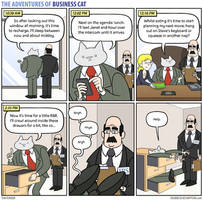 The Adventures of Business Cat - Itinerary by tomfonder