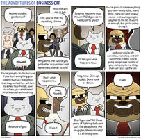 The Adventures of Business Cat - End Times by tomfonder