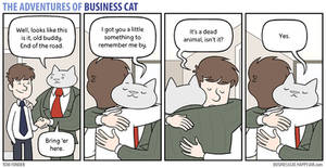 The Adventures of Business Cat - Parting Gift
