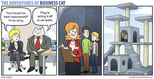 The Adventures of Business Cat - Repossession