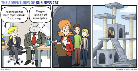 The Adventures of Business Cat - Repossession