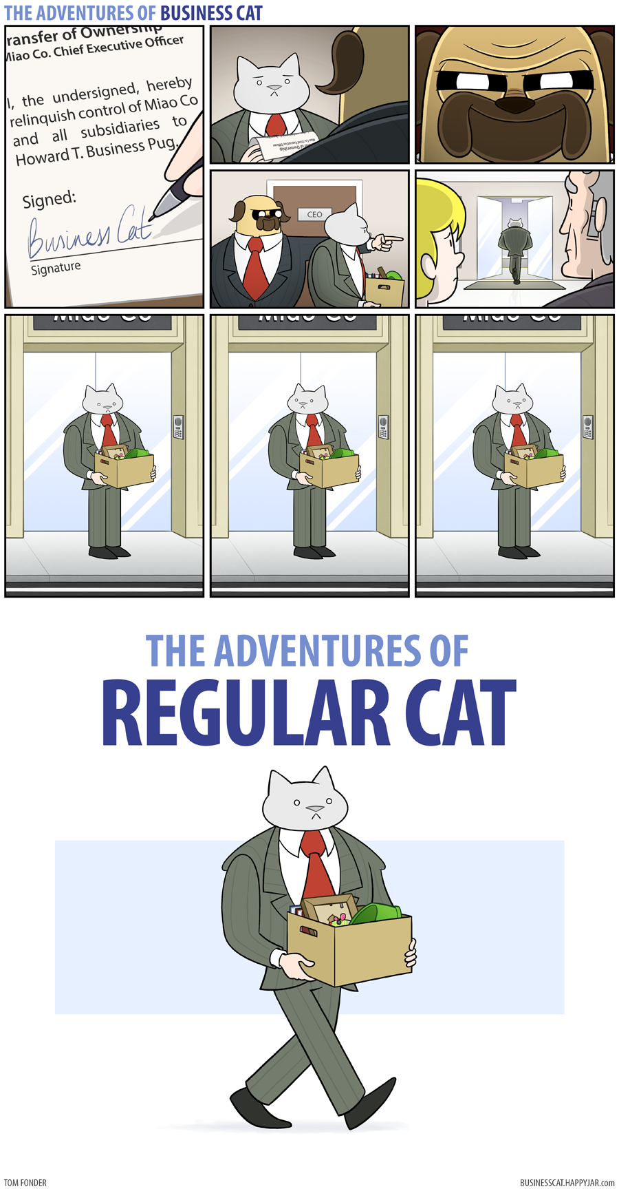 The Adventures of Business Cat - Changeover by tomfonder