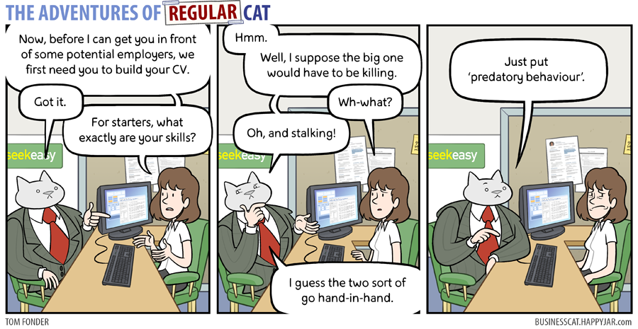 The Adventures of Regular Cat - Skillset by tomfonder