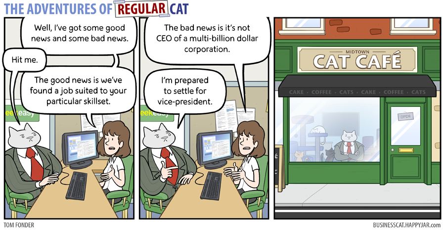 The Adventures of Regular Cat - Placement by tomfonder