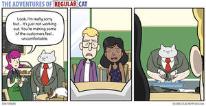 The Adventures of Regular Cat - Fired