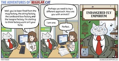 The Adventures of Regular Cat - Emporium