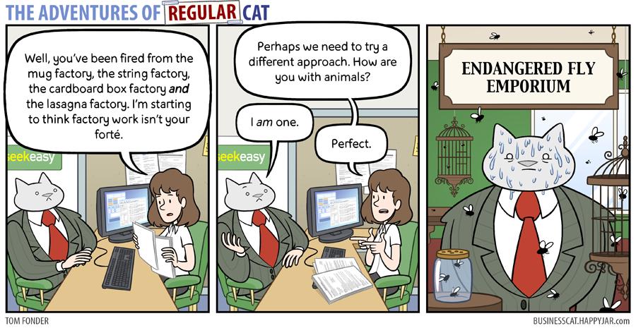 The Adventures of Regular Cat - Emporium by tomfonder