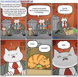 The Adventures of Regular Cat - Idea