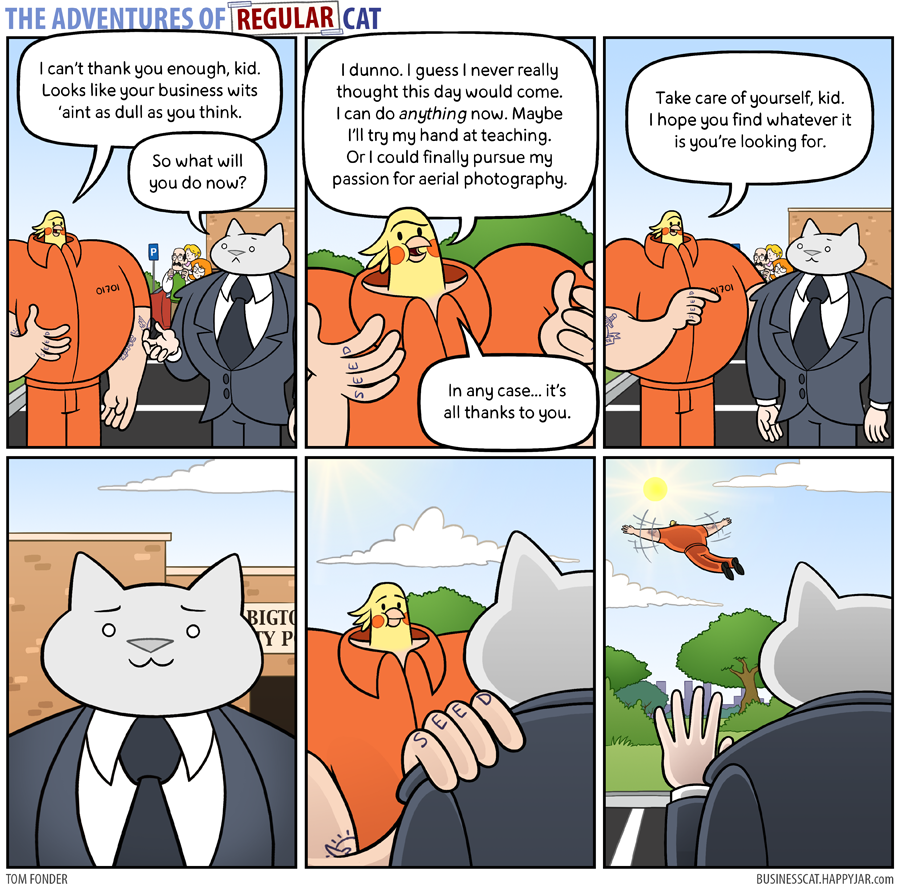 The Adventures of Regular Cat - Free by tomfonder