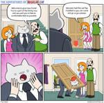 The Adventures of Regular Cat - Cat Flap