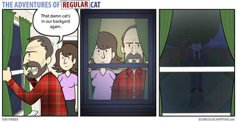 The Adventures of Regular Cat - Backyard
