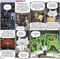 The Adventures of Regular Cat - Deus Ex Crabina by tomfonder