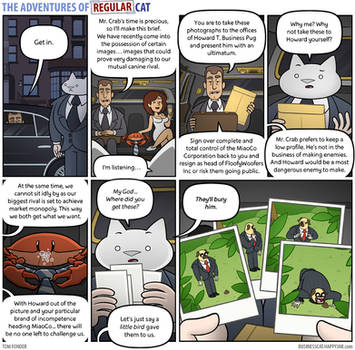 The Adventures of Regular Cat - Deus Ex Crabina