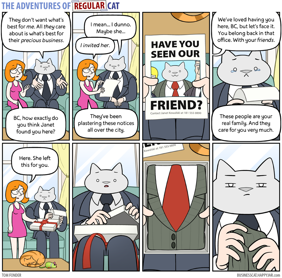The Adventures of Regular Cat - Family
