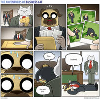 The Adventures of Business Cat - Submission