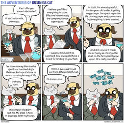 The Adventures of Business Cat - Peace Times