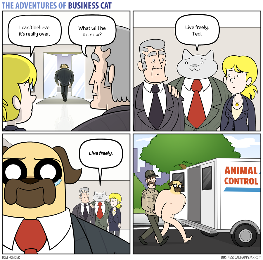 The Adventures of Business Cat - Free Living