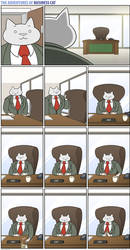 The Adventures of Business Cat - Full Circle