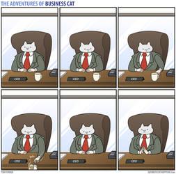 The Adventures of Business Cat - Origins