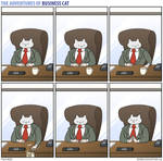 The Adventures of Business Cat - Origins