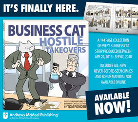 Book Release - Business Cat: Hostile Takeovers