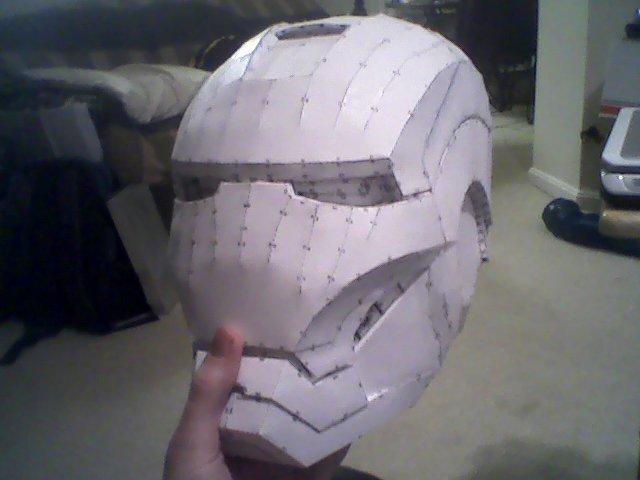 Iron Man Mark VII - Helmet! by scenturion666
