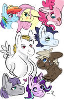 Cluster of Shipping by MeepxMorp