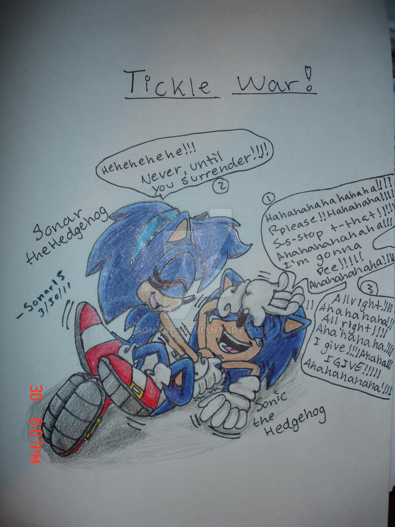 Sonic_Sonar_Tickle_War by Sonar15
