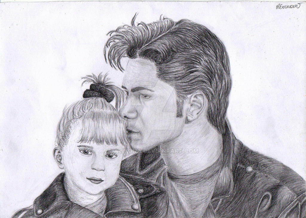 Uncle Jesse and Michelle by Aliyona