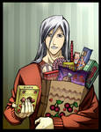 Ukitake brings some food to y'all by katesclown
