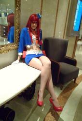 Yoko Littner- Gurren Lagann (S.t.a.r.S Uniform) by JustPeachyCosplay