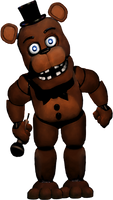 Unwithered Freddy v2 by 133alexander