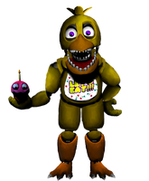 Unwithered Chica v2 by 133alexander